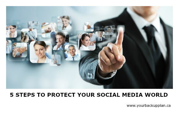 5 steps to protect your Social media world
