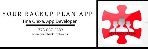 Your Backup Plan App