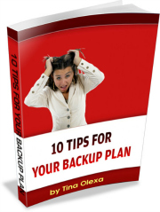 ebook, your backup plan, 10 tips, emergency planning