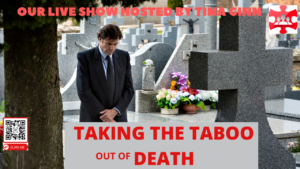 taboo, talking taboo, podcast, interview, death, dying, planning, financial planning, cemetery, burial, covid 19, pandemic, life planning